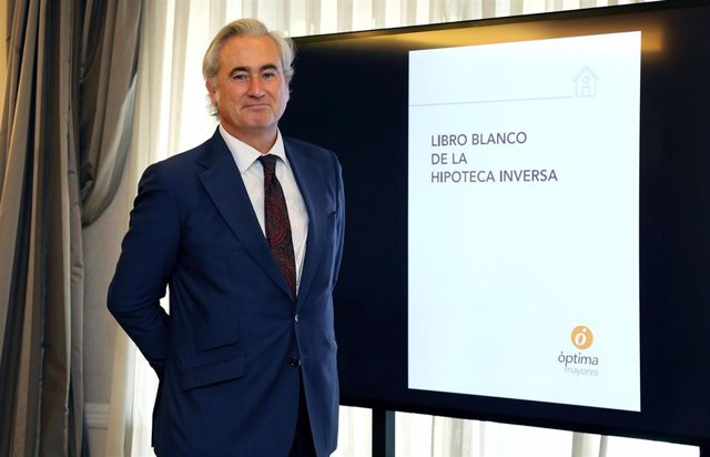 El consejero delegado de Óptima Mayores, Ángel Cominges