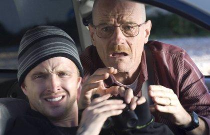 """Bryan Cranston y Aaron Paul bromean sobre el regreso de Breaking Bad que llegará """"antes"""""""