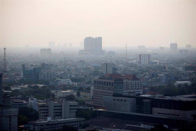 Contaminación en Yakarta