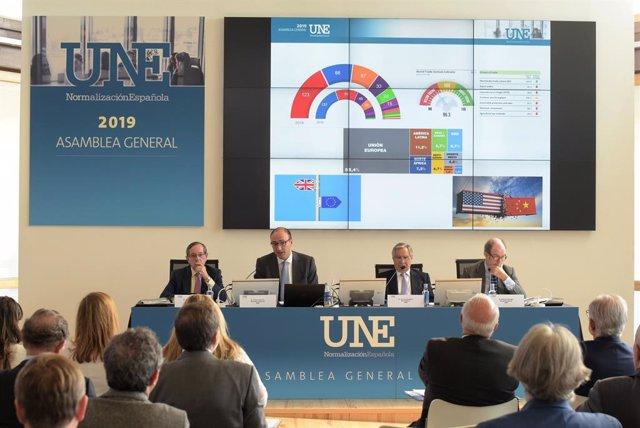Asamblea General de la Asociación Española de Normalización, UNE