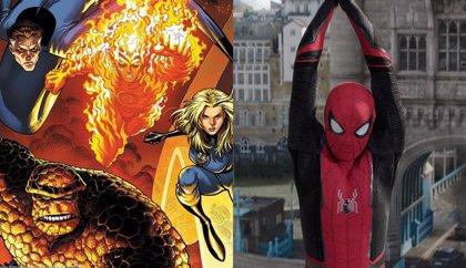 ¿Anticipa Spider-Man: Lejos de casa la llegada de Los 4 Fantásticos al UCM?
