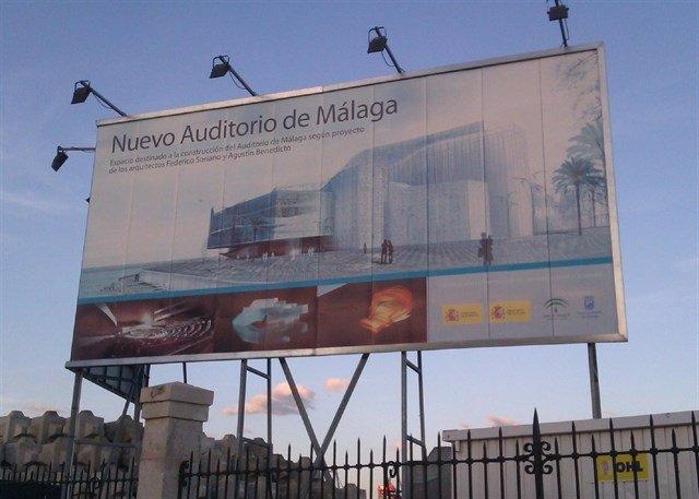 Auditorio del puerto previsto málaga san andrés explanada ópera benedito