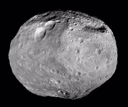 El asteroide Vesta se originó en una peculiar colisión cósmica