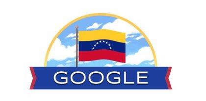 Google celebra el Día de la Independencia de Venezuela con un 'doodle' especial