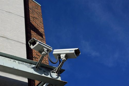 Cámaras de videovigilancia, imagen de recurso
