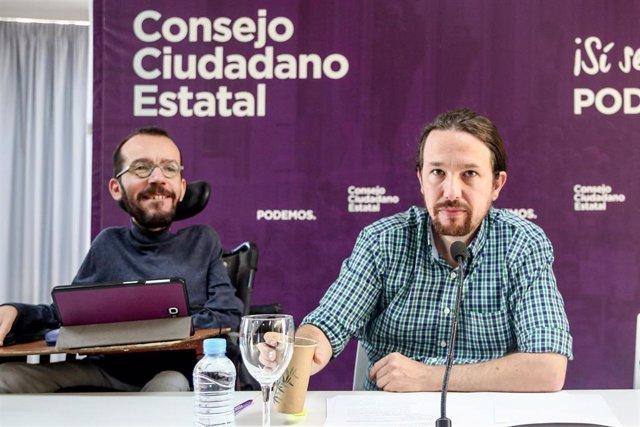 Iglesias pide estar en el Gobierno de Sánchez e insinúa para Podemos carteras como Trabajo y Hacienda