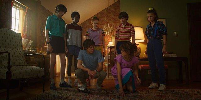 Fotograma de la tercera temporada de Stranger Things