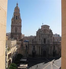Imagen de la Catedral, vista desde el Moneo