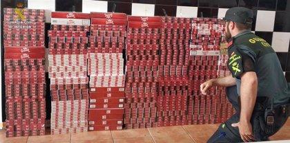 Intervenidas cerca de 1.500 cajetillas de tabaco de contrabando en una tienda de Isla Cristina (Huelva)