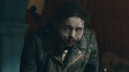 Post Malone estrena videoclip: Una historia de amor con navajazos en el cuello y muertos que resucitan como zombies