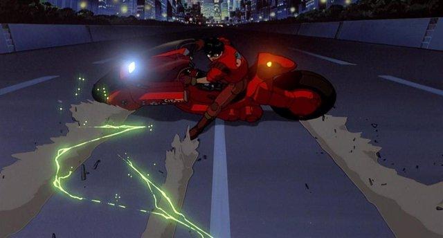 Fotograma de Akira, la película dirigida por Katsuhiro Otomo
