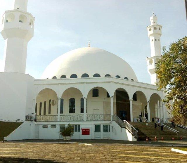 Mezquita musulmana en Foz de Iguazú