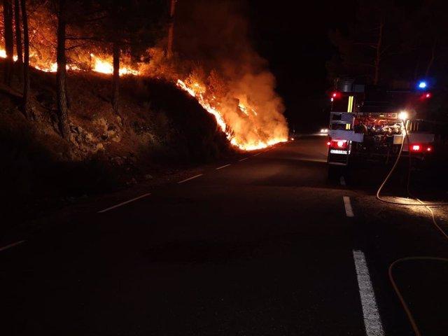Incendio de Gabilanes.