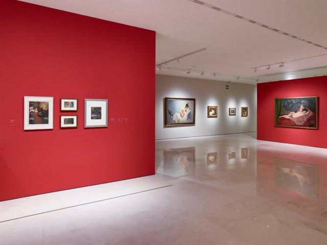 Exposición de obras 'Perversidad' en el Museo Carmen Thyssen Málaga