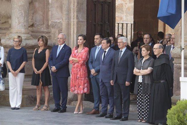 AMP.- La Reina Letizia clausura en La Rioja el II Seminario de educación patrimonial en la escuela