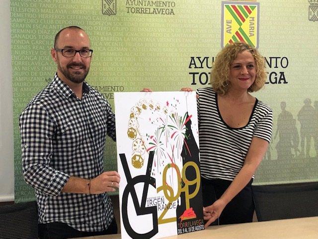 Presentación cartel ganador fiestas Virgen Grande