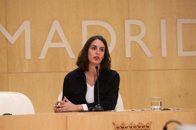 Imagen de recurso de la concejal de Más Madrid Rita Maestre.