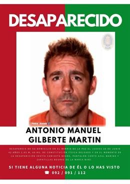 Desaparecido en Granada desde el 20 de junio