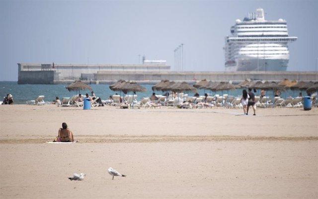 Playa de la Malva-rosa (Valencia)