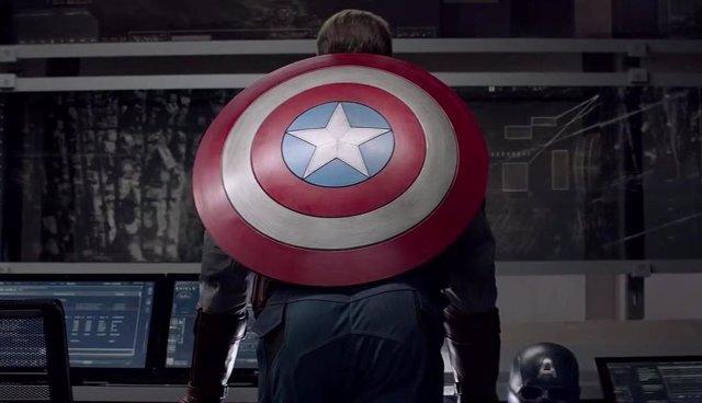 Imagen de Chris Evans como Steve Rogers en Capitán América: Soldado de invierno