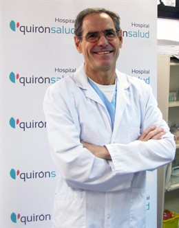 Doctor Fernando Serrano, Jefe de la Unidad de Optimización Funcional del Hospital Quirónsalud San José
