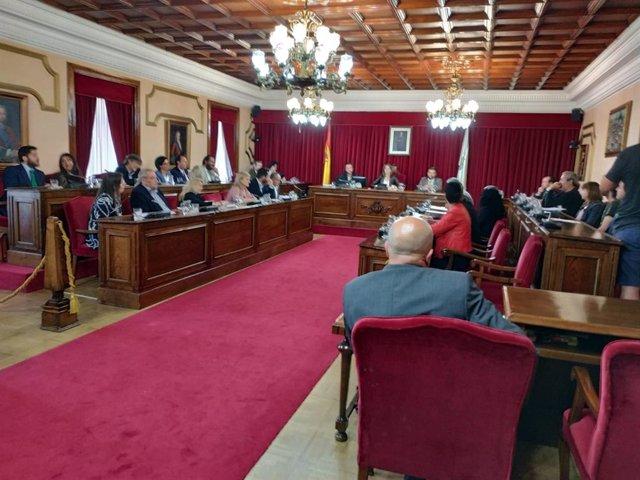 Pleno de organización del Ayuntamiento de Lugo.