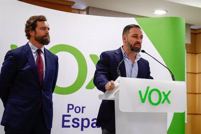 Iván Espìnosa de los Monteros y Santiago Abascal