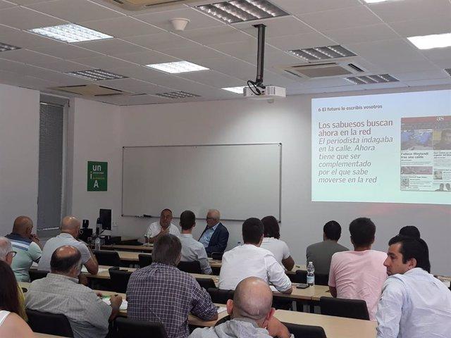 Sesión inugural del primer curso de verano de la UNIA