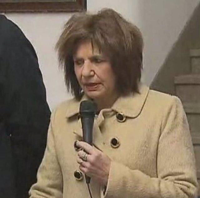 Patricia Bullrich durante su discurso el 3 de julio