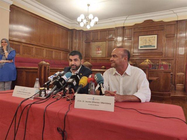 """AMP.- El Homrani dice que el ataque en El Masnou es """"un paso más allá"""" y apunta a ultraderecha"""