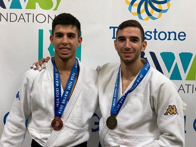 Álvaro Gavilán y Sergio Ibáñez, medallistas en los Juegos Mundiales de Ciegos