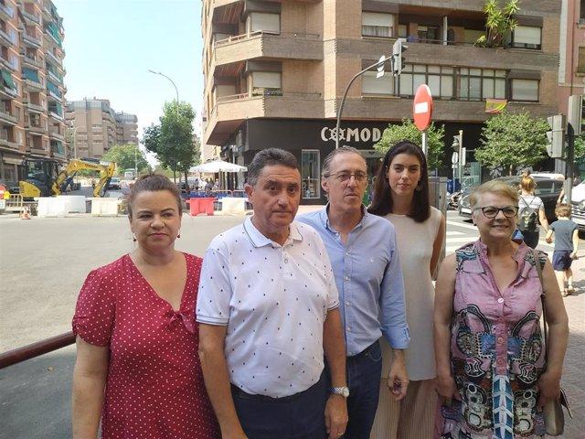 Concejales del PP se reúnen con ACOVARA