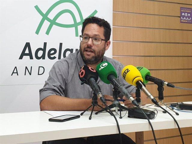 José Ignacio García, este viernes