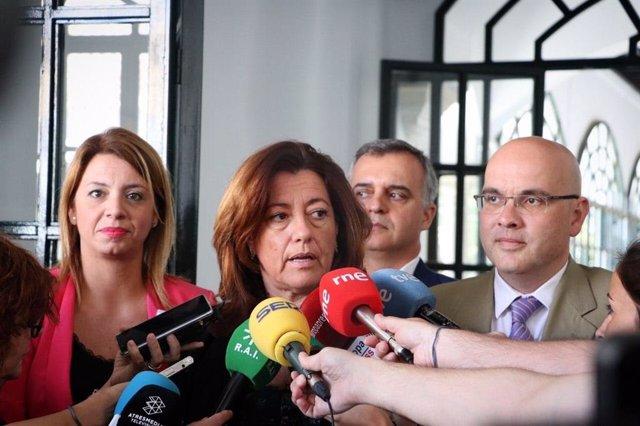 La portavoz del Comité Autonómico de negociación de gobiernos de Ciudadanos de Andalucía y secretaria de Organización de Cs Andalucía, Mar Hormigo
