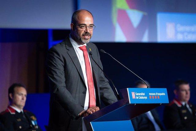 El conseller de Interior de la Generalitat de Catalunya, Miquel Buch (ARCHIVO)