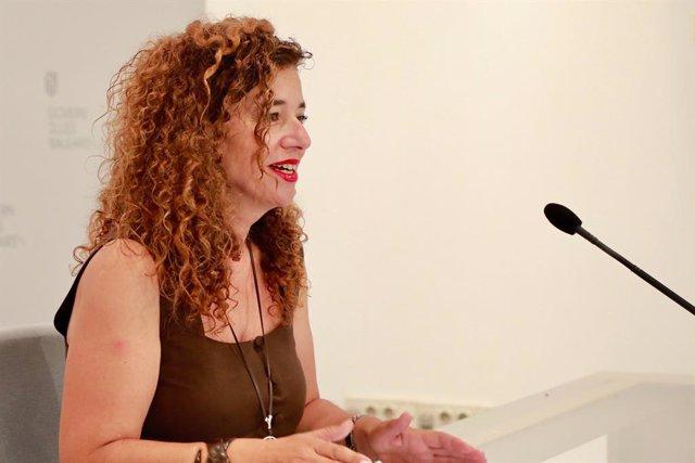 La portaveu del Govern, Pilar Costa, després del primer Consell Govern