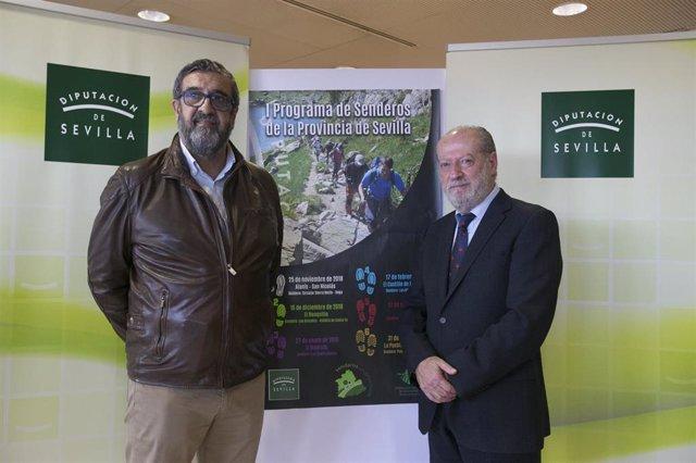 Presentación del programa de senderos de la Diputación de Sevilla