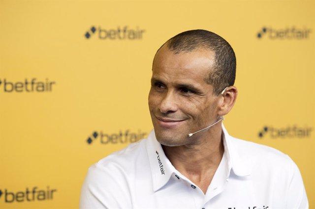 El exjugador de fútbol brasileño Rivaldo