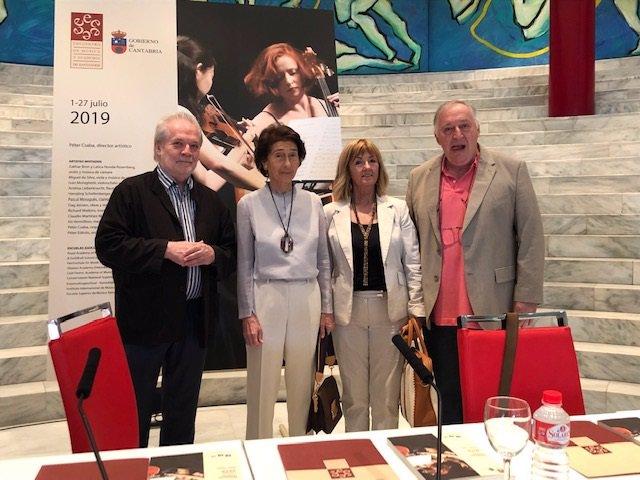 Presentación del concierto inaugural del XIX Encuentro de Música y Academia de Santander