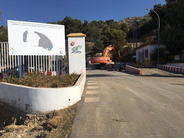 Planta de transferencia de residuos de Marbella (Málaga)