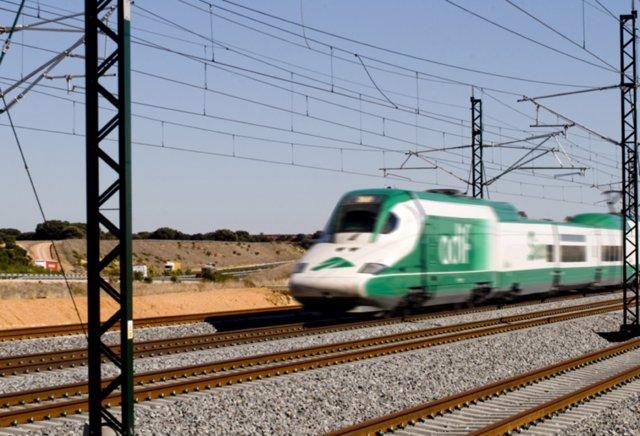 Locomotoras de Adif