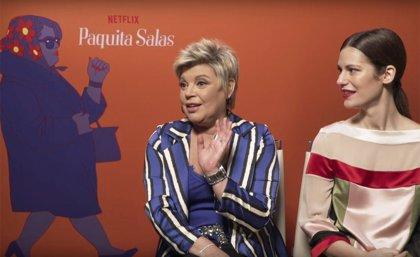 """Terelu Campos habla de su papel en Paquita Salas: """"Fue un regalo maravilloso en un momento complicado de mi vida"""""""