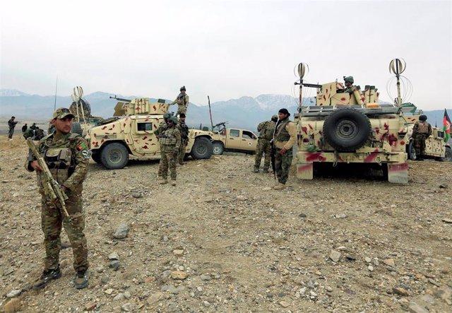 Operación del Ejército afgano en Nangarhar