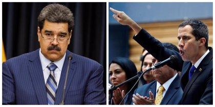 """Maduro insta al diálogo y Guaidó rechaza cualquier trato con la """"dictadura"""" en Venezuela"""