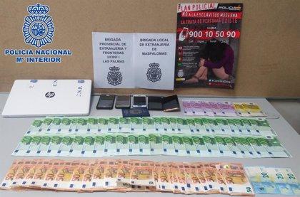Liberadas cuatro venezolanas explotadas sexualmente en pisos y clubes de Gran Canaria, España