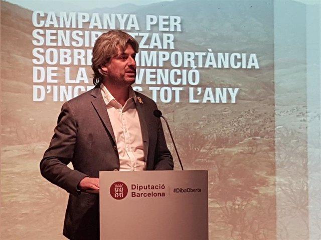 El vicepresidente de la Diputación de Barcelona Dionís Guiteras (Archivo).