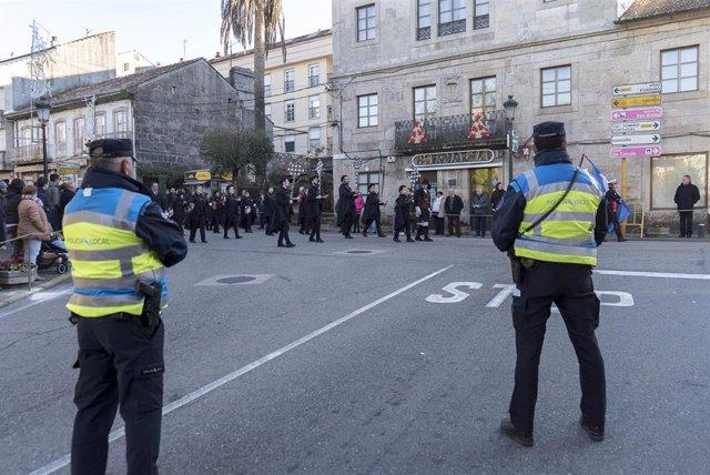 Imagen de la Policía Local de Gondomar.