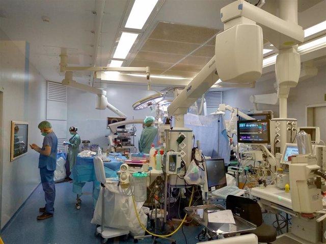 Imagen del interior de un quirófano.