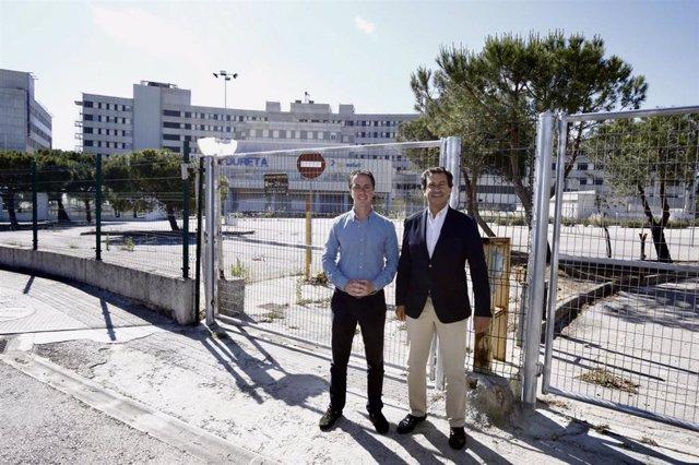 El conseller electo del PP, Llorenç Galmés, en una foto de archivo con el líder del PP balear, Biel Company