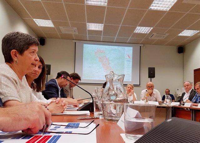 La delegada del Gobierno en Catalunya, Teresa Cunillera